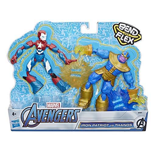 Juguete Avengers- Bend and Flex Figura Dualpack