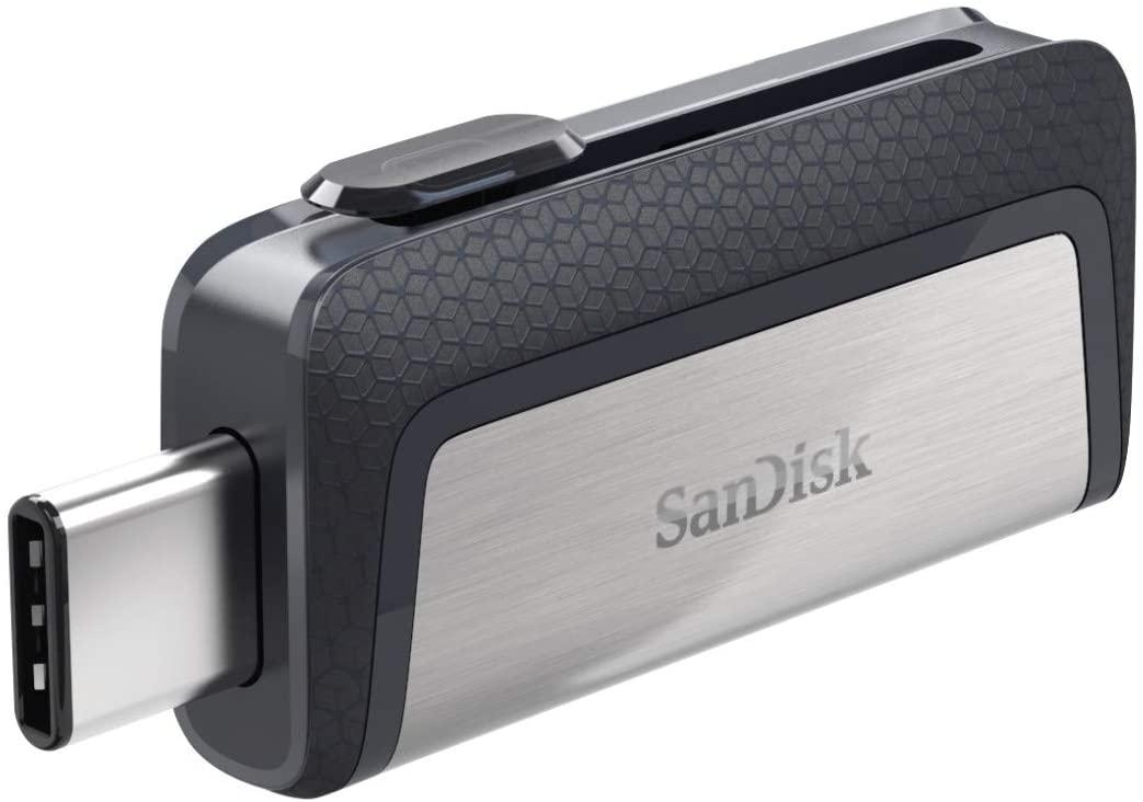 Pendrive: SanDisk Memoria Flash USB 256 GB para tu smartphone Android - Ultra Dual DriveType-C - USB 3.1