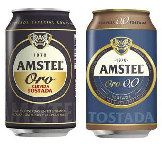 LIDL: Amstel® Cerveza tostada Oro / 0,0% por sólo 0,41€ (3x2)