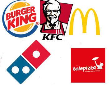 Recopilatorio cupones y descuentos FASTFOOD (McDonald's, Domino's, Telepizza, BK y más)