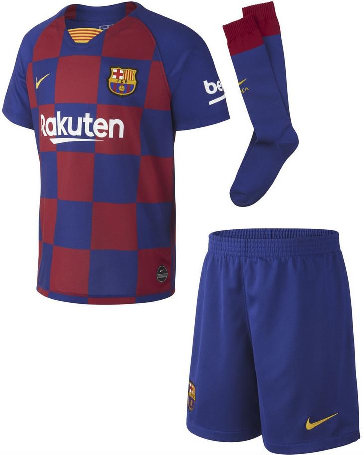 FC Barcelona 2019-2020 Breathe Nike niños 3-7 años por sólo 25,95€ (Primera o segunda equipación)