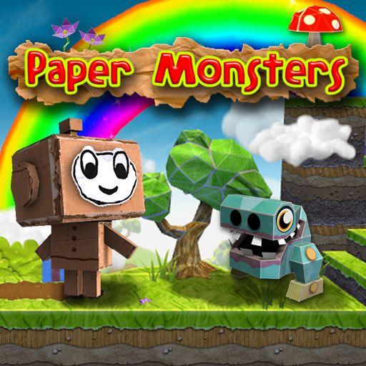 Paper Monsters, plataforma 3D al estilo Mario (IOS, Android)