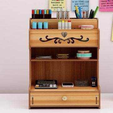 Organizador de escritorio de madera - Desde UK