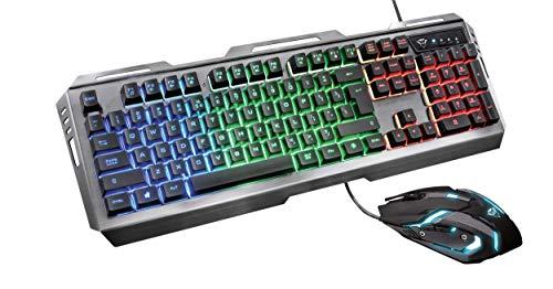 Trust Gaming GXT 845 Tural - Set de Teclado y ratón