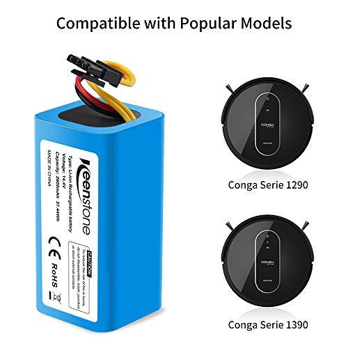 Batería 14.4V 2600mah Li-Ion para Conga 1290-1390-1590