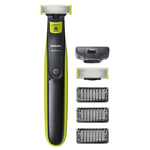 Philips QP2520/30 OneBlade - Recortador de barba, recorta, perfila y afeita por 29,9€