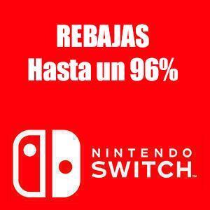 Nintendo Switch :: Hasta un 95% en +490 juegos (eShop)