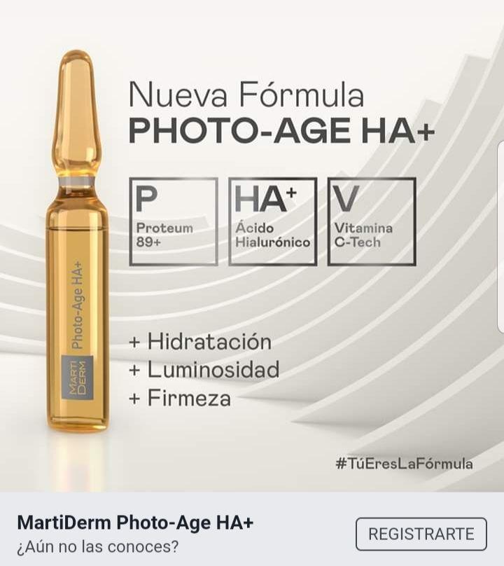 Gratis Muestra Photo-Age HA+