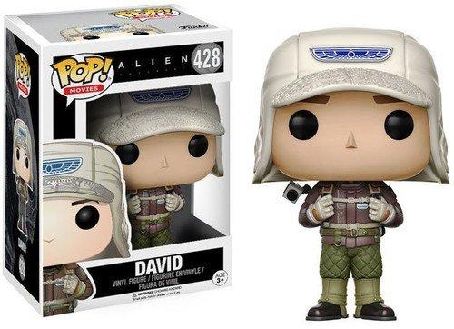 Funko Pop! - David (Rugged) Figura de Vinilo, seria Alien Covenant