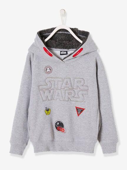 Dos modelos Sudadera con capucha Star Wars® de felpa