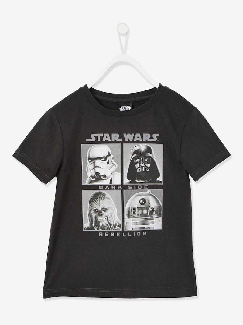 Dos modelos camiseta infantil Star Wars