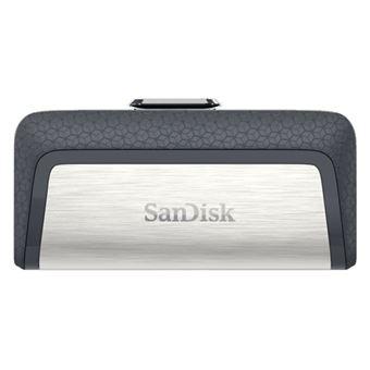 Memoria USB-C Sandisk Ultra Dual 128GB por 15,29€ y Ultra Dual OTG M3.0 64GB por 8,09€ (Acumula 5%)