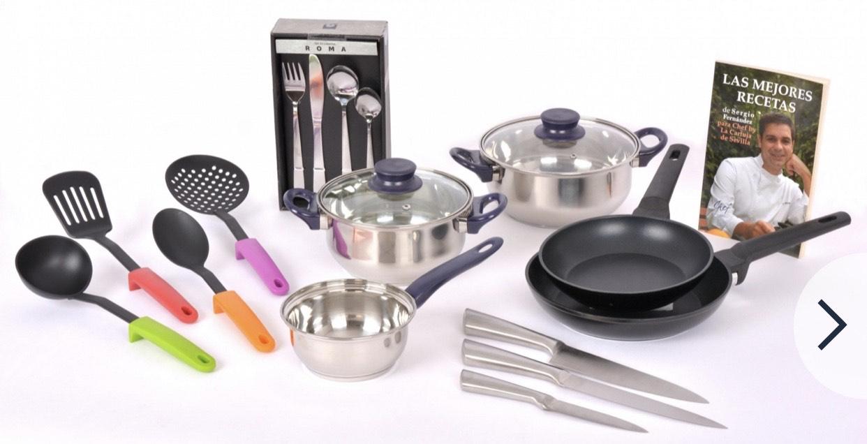Set de cocina 39 piezas