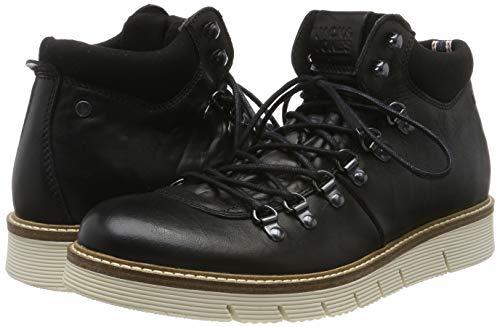 TALLAS 41 y 42 - Jack & Jones Jfwcolumbus Leather Anthracite, Botas Clasicas para Hombre (Desde 23.71€)