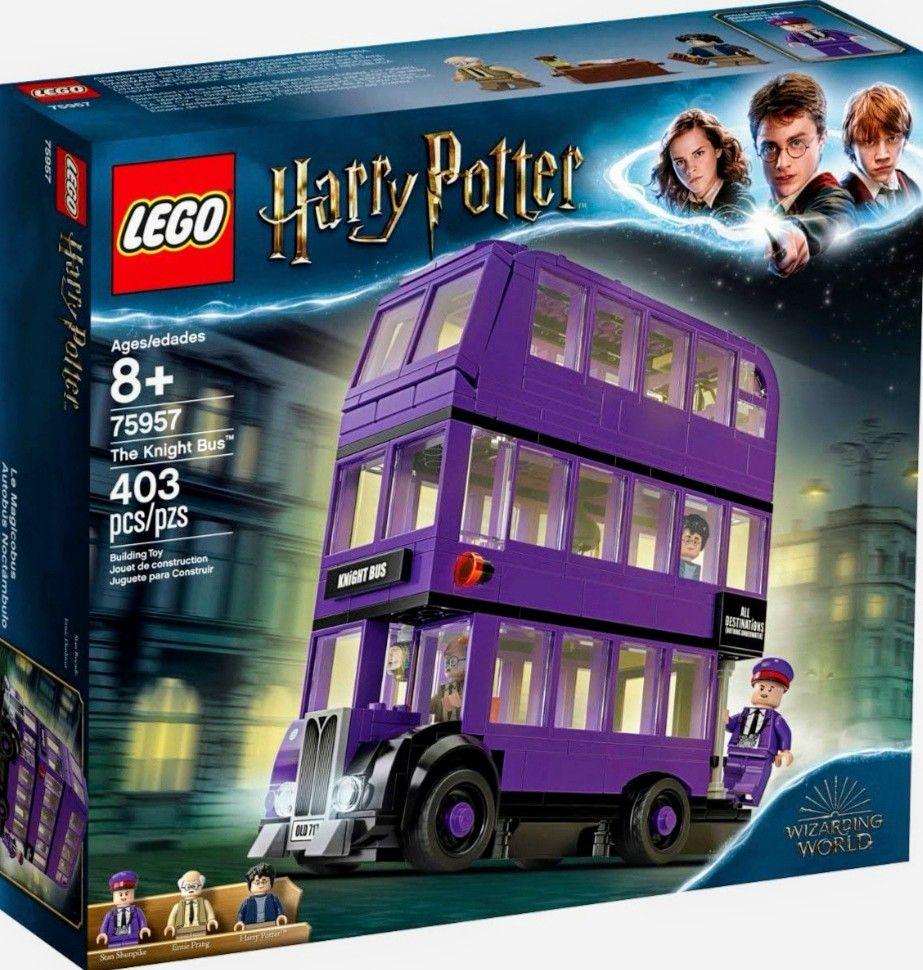 LEGO Harry Potter - Mágico Autobús Noctámbulo de 3 Plantas. Incluye 3 Minifiguras