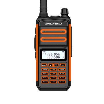 Walkie Talkie BAOFENG BF-S5plus 18W 8000mAh IP67 Waterproof UV Dual Band