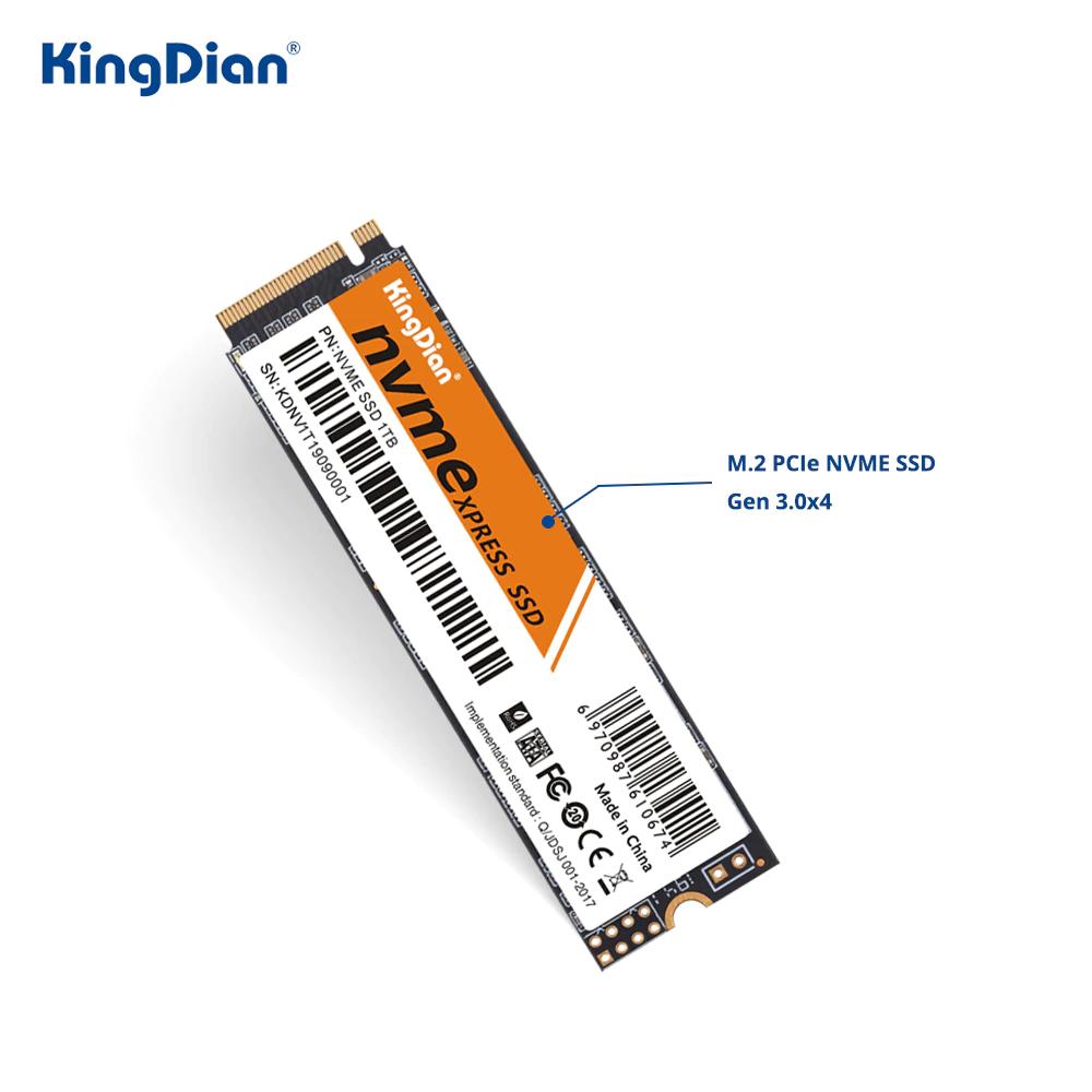 KingDian m2 NVME SSD 1TB (2200/1600 mbs)