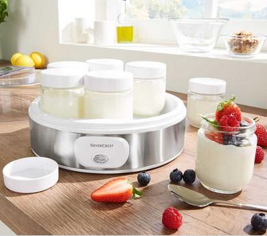 LIDL (Sábado 18/07): Yogurtera Silvercrest 18W (7 vasos)