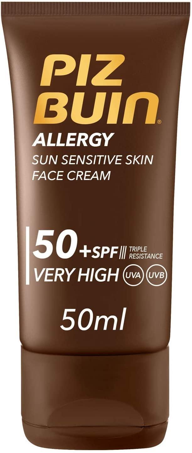 Piz Buin Allergy Protector Solar Facial, SPF 50+ Descuento en el carrito