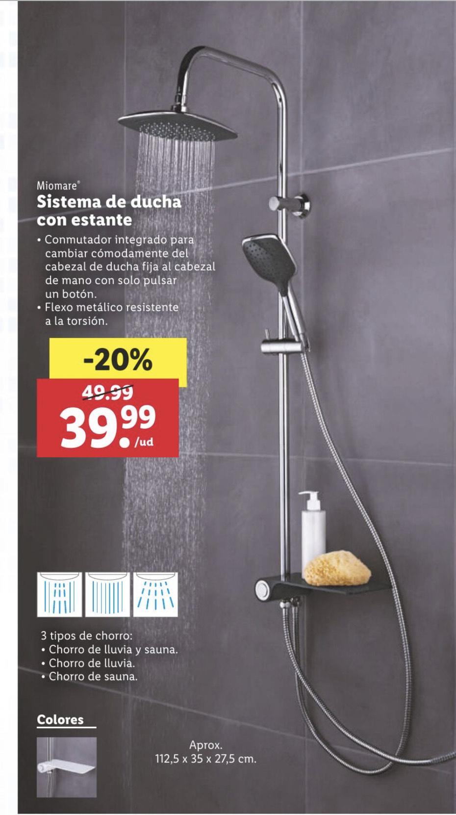 Lidl.Sistema de ducha