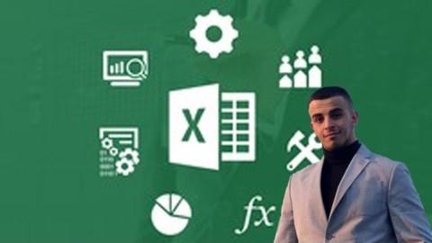 Aprenda MS Excel en Udemy