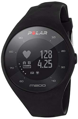Polar M200 - Reloj de Carrera con GPS y frecuencia cardíaca en la muñeca, Unisex Adulto REACO