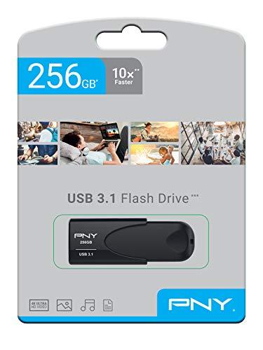 Pendrive 256GB PNY Memoria Attaché 4 USB 3.1