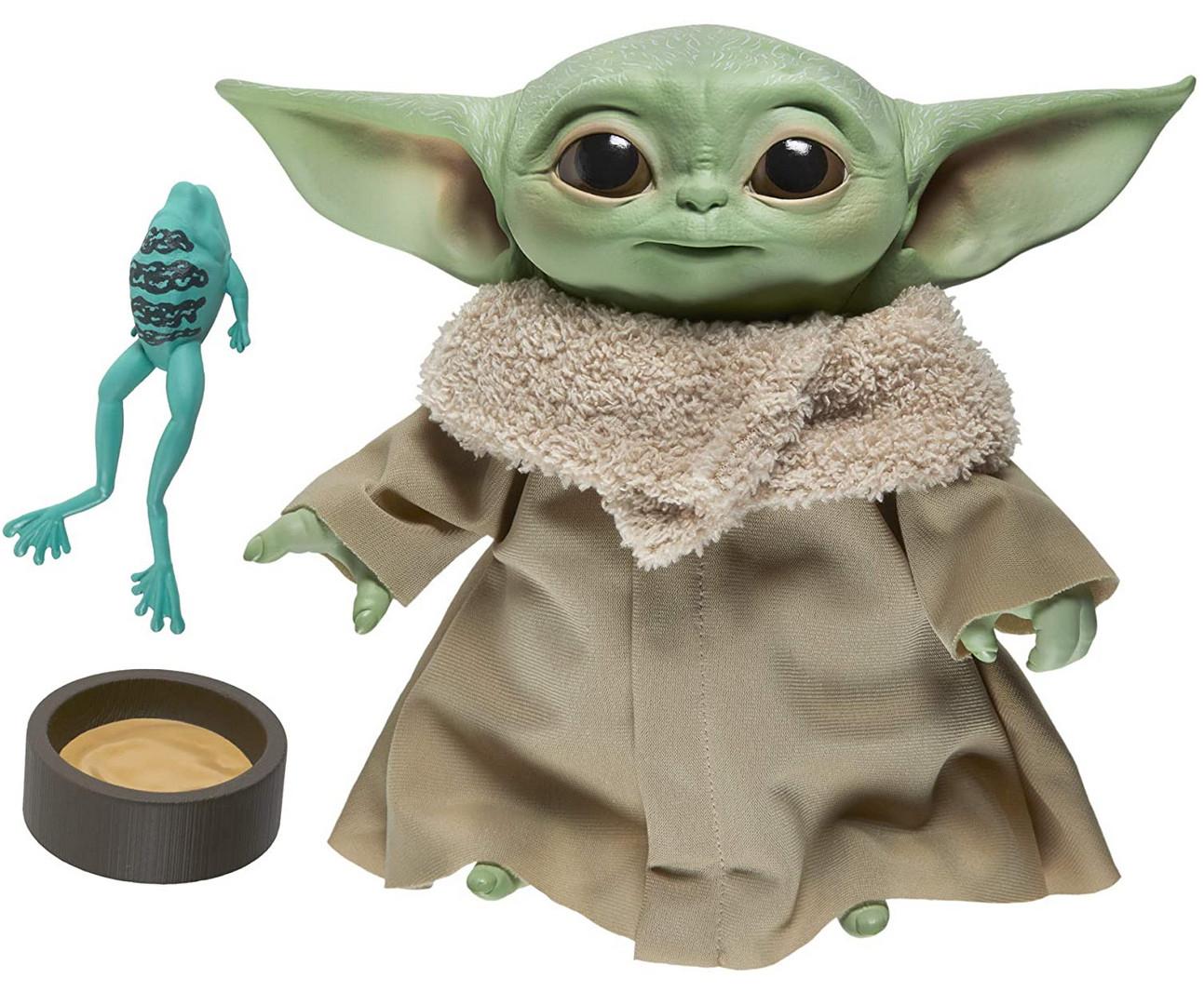 Peluche Baby Yoda blandito y suave con 10 efectos de sonido