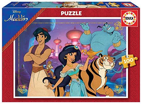 Puzzle 100 piezas Aladín, marca educa