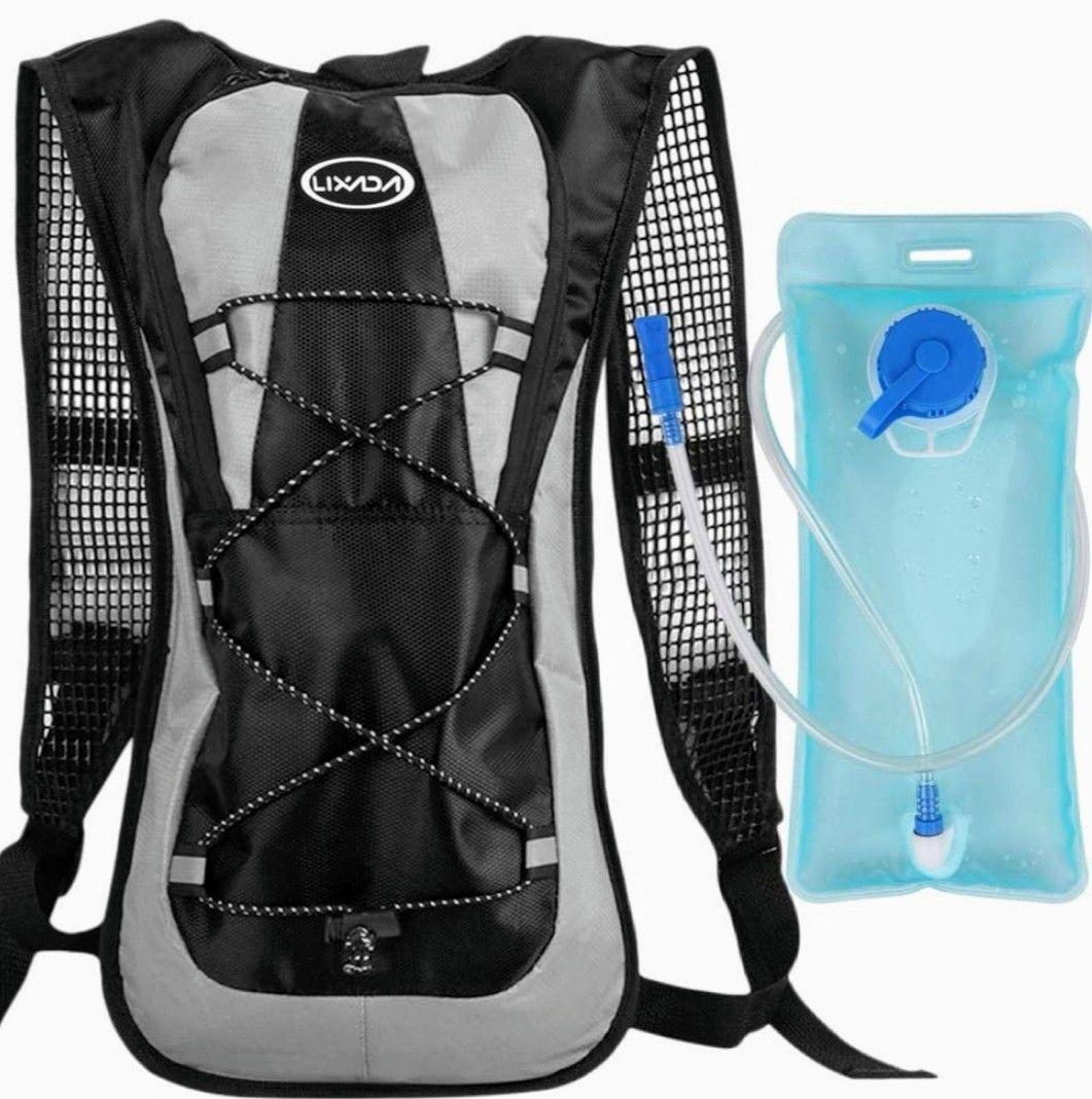 Mochila de hidratación Deportiva con Bolsa de Agua de 2L (En Varios colores) Precio Mínimo