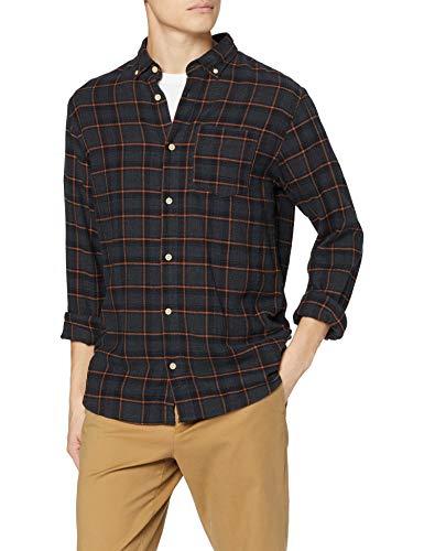 TALLAS S y M - Jack & Jones Jorrick Shirt LS Org Camisa Casual para Hombre