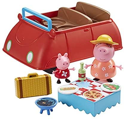 Peppa Pig- Gran Coche Deluxe Rojo, con música y sonidos