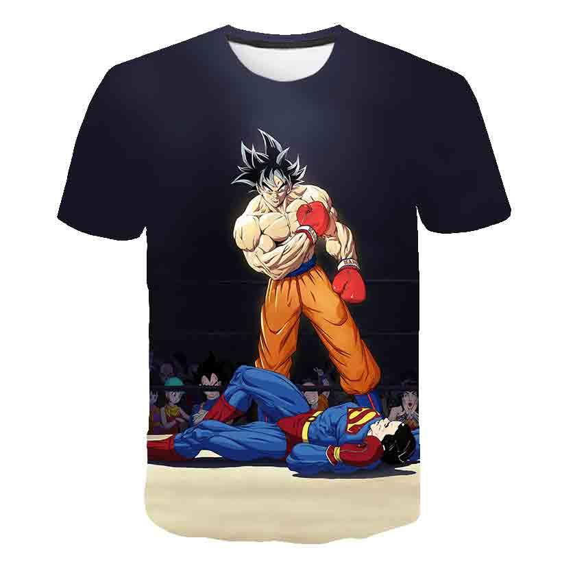 Novedad! Camiseta de Dragon Ball Son Goku, de la S a la 5XL. 21 modelos a elegir.