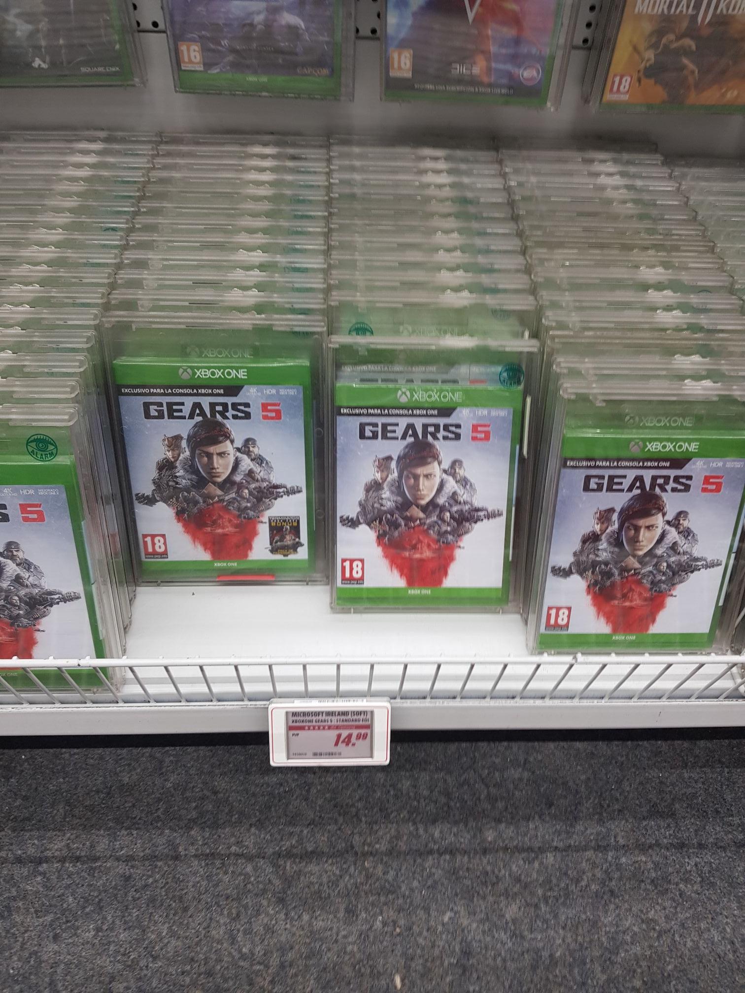 Gears of war 5 mediamark maquinista