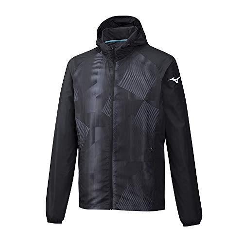 TALLA XL - Mizuno Printed Hoody Jacket Chaqueta, Hombre