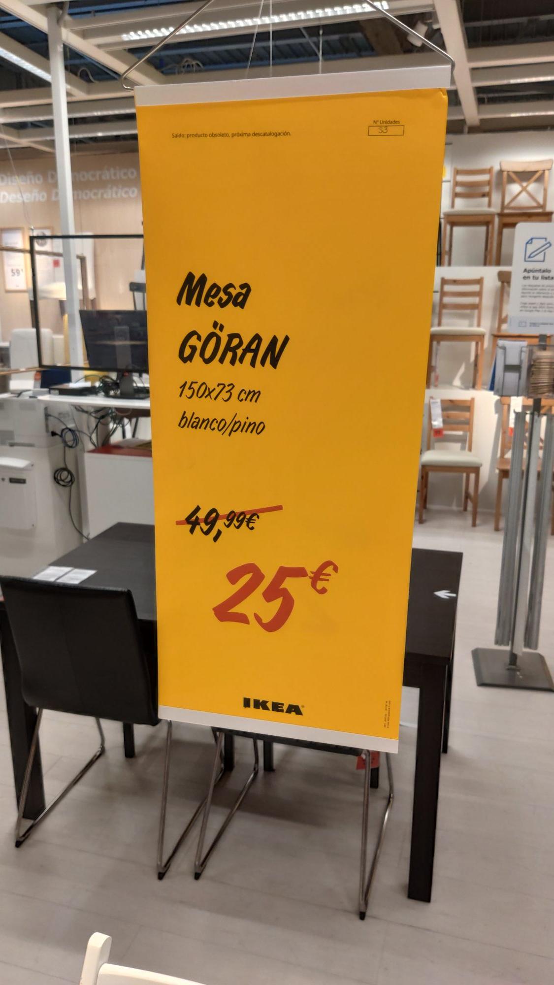 Mesa a buen precio en Ikea de A Coruña