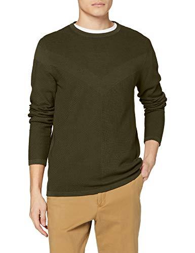 TALLAS L y XL - Jack & Jones Jcomoon Knit Crew Neck Suéter para Hombre (Desde 7.57€)