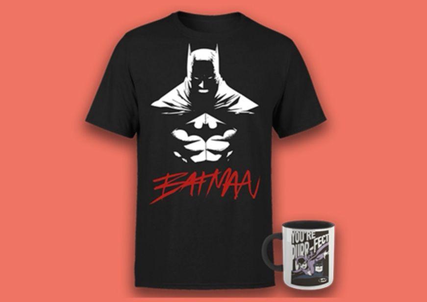 Pack DC Comics Batman /Varios modelos/ Camiseta + Taza