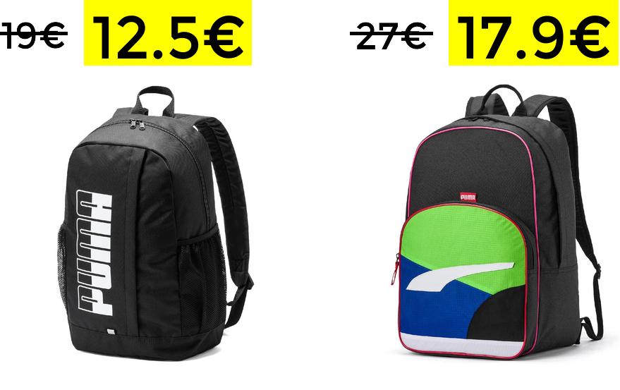 Buenos precios en mochilas Puma