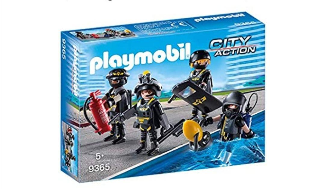 PLAYMOBIL- Equipo de Las Fuerzas Especiales
