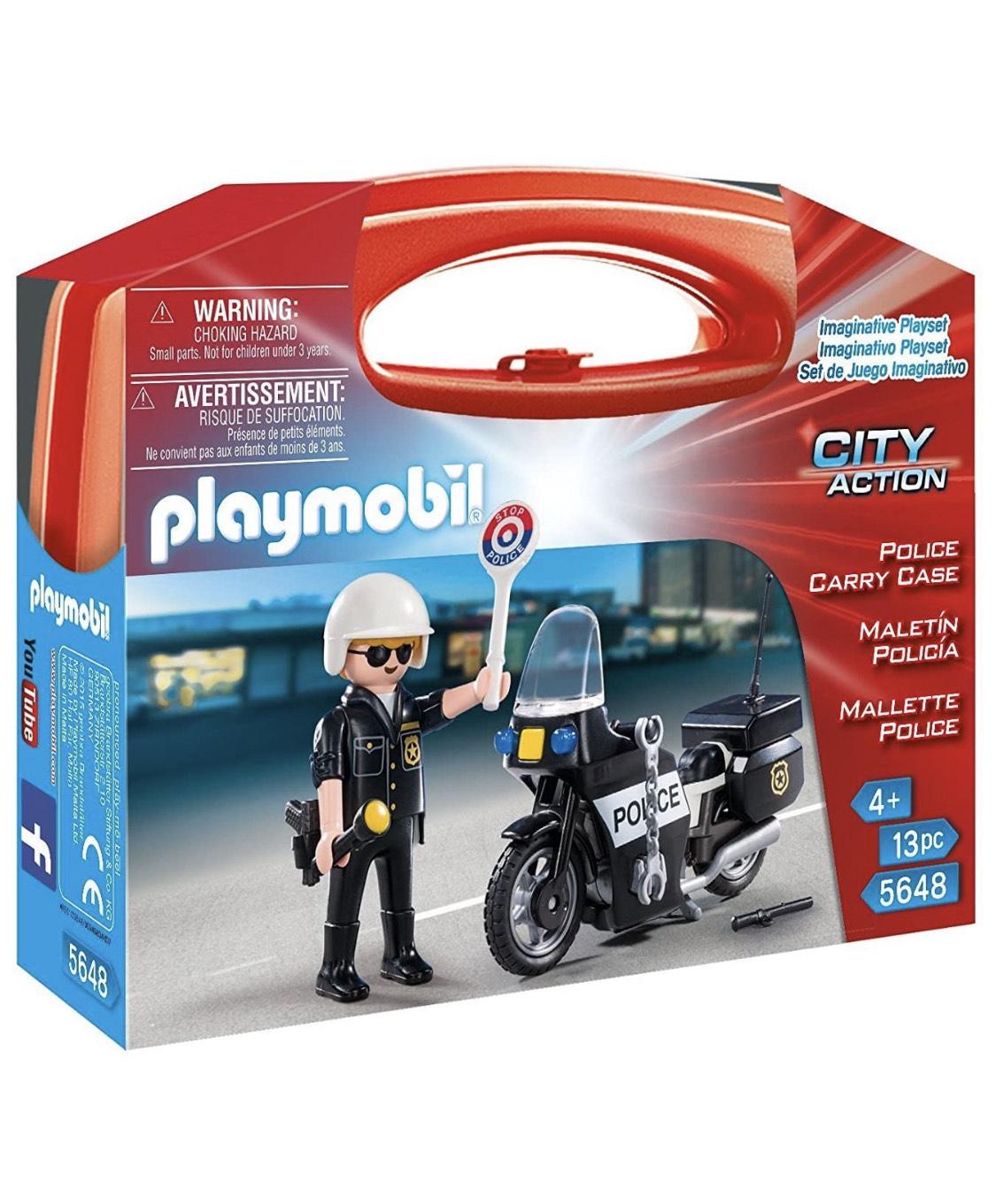 Playmobil policía 5648