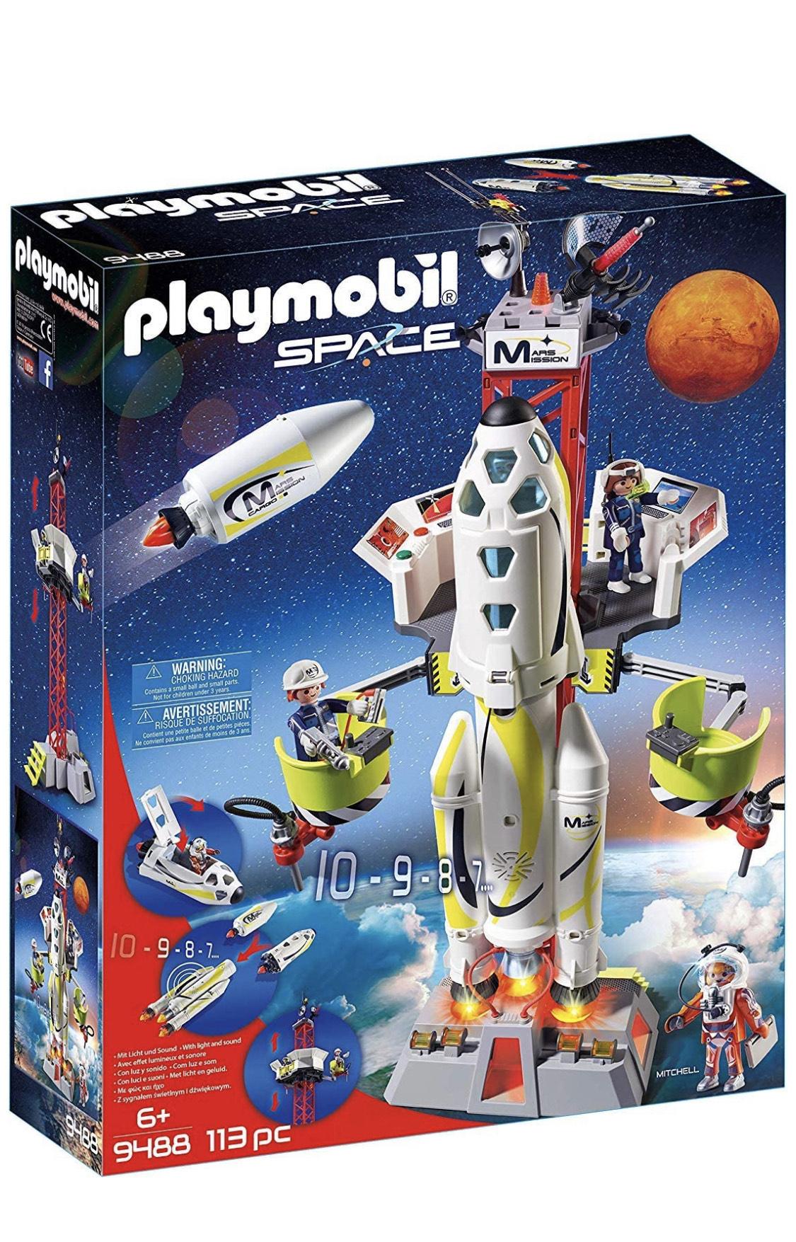 Playmobil Cohete espacial