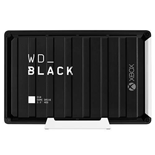 Disco duro 12 TB y 7200 r.p.m WD Black D10 / refrigeración activa
