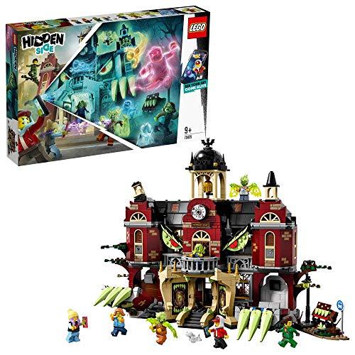 LEGO - Hidden Side Instituto Encantado de Newbury Juguete de construcción con realidad aumentada e interactivo, incluye edicifio y figuras.