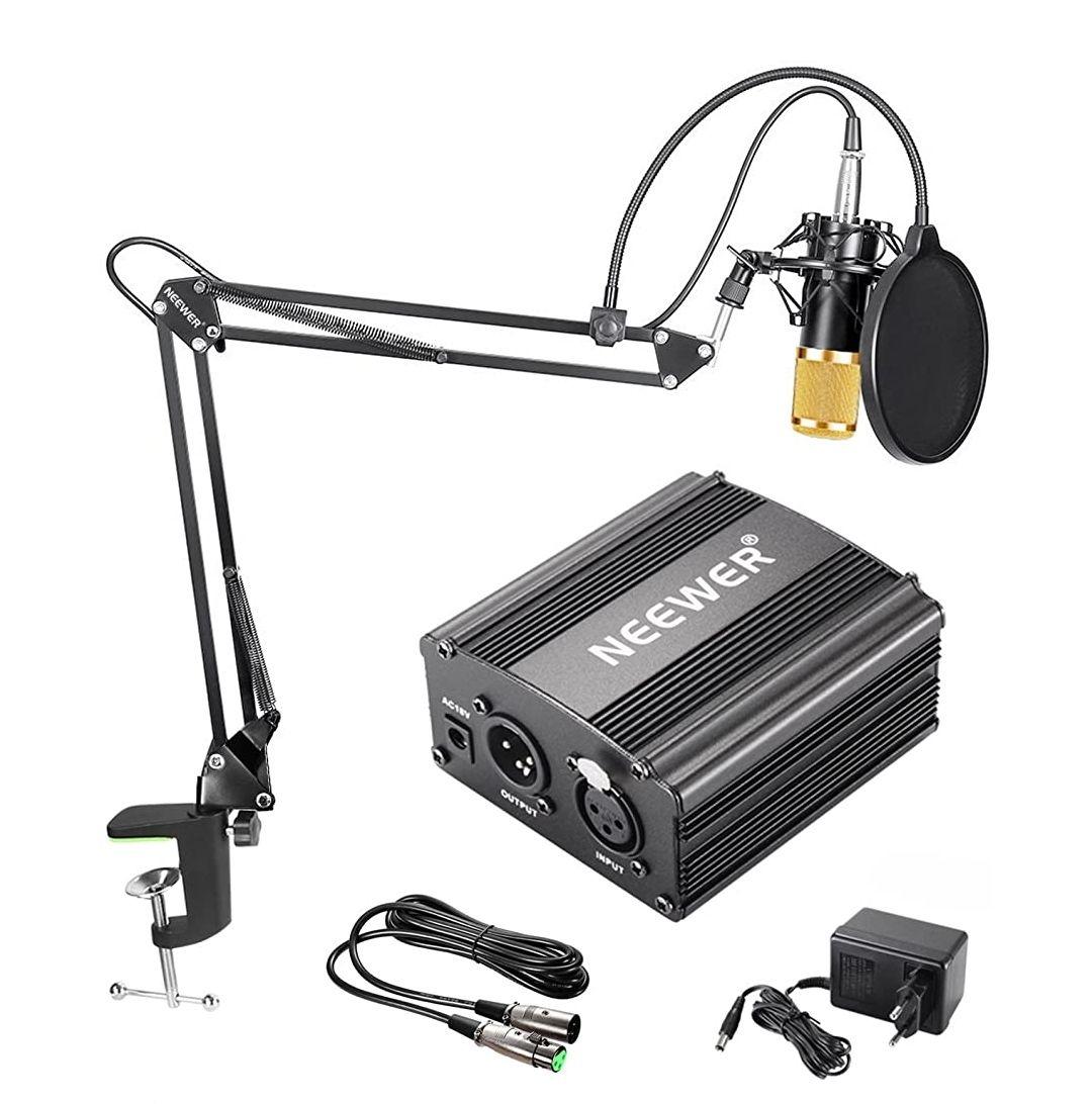 OFERTA FLASH!! Neewer NW-800 Kit de Micrófono de Condensador de Oro