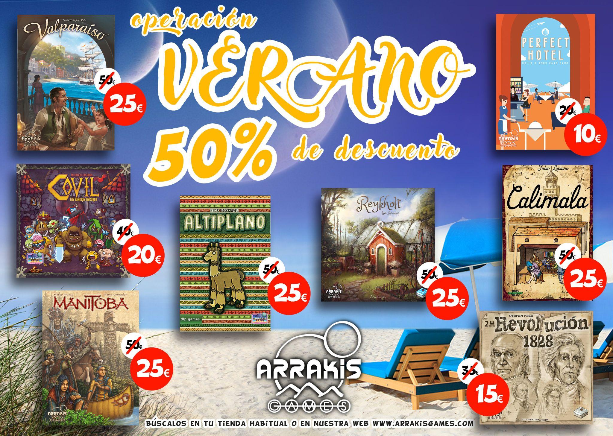 Arrakis Games: Juegos de Mesa al 50%