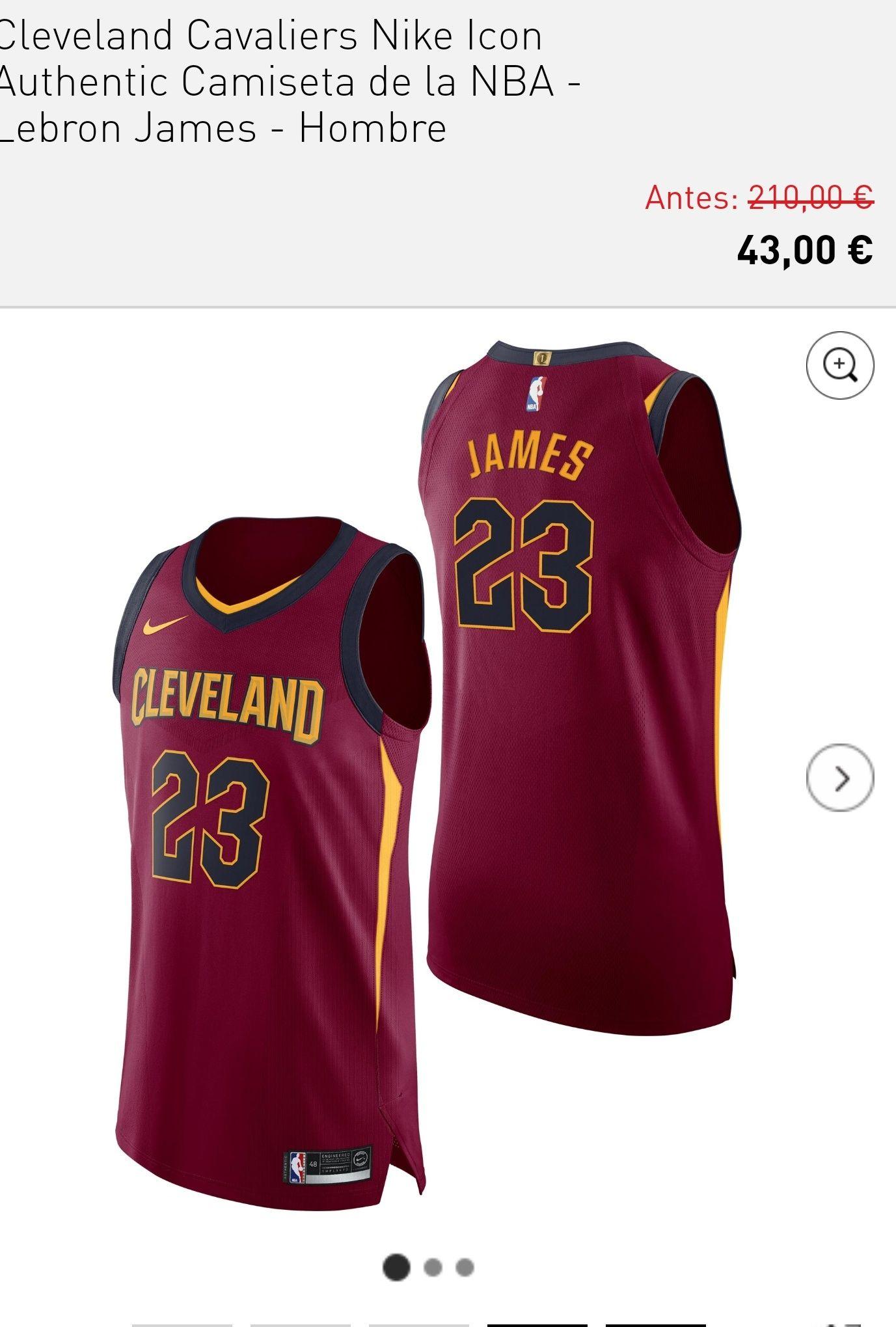 Camisetas oficiales NBA Authentic