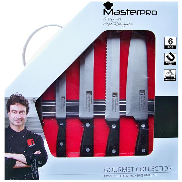 Juego 5 cuchillos Gourmet MasterPRO