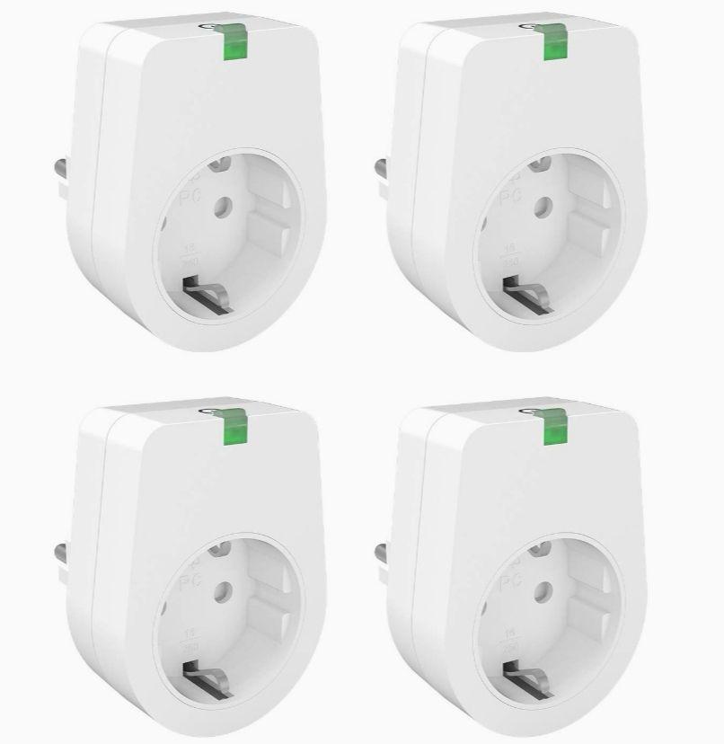 Pack de 4 enchufes inteligentes (precio mínimo)