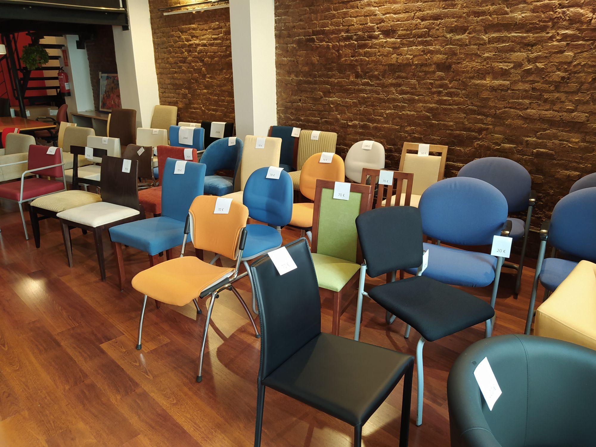 Chollo en sillas y butacas en Barcelona